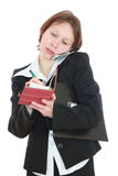 The Business woman. Stock Image