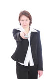 The Business woman. Royalty Free Stock Photo
