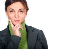 Business Woman. Today's Business Woman royalty free stock photos
