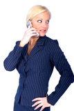 Business Woman. Woman on Cell stock images