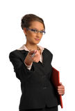 The business woman Stock Photos