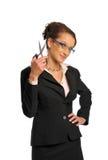 The business woman Stock Photos
