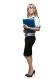 The business woman Stock Images