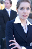 Business Woman. A close up on a business woman with her arms crossed Royalty Free Stock Photography