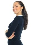 Business woman. Portrait of a young attractive woman Stock Photography