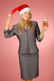 Business-woman Image stock