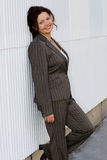Business woman. A nice portrait of atractive  business woman Stock Images