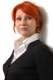 Business woman. Elegant and serious Business woman stock photos