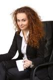 2 business woman Arkivfoton