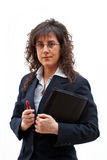 Business woman. Young Business woman royalty free stock images
