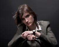 Business-woman Royalty Free Stock Image