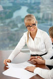 The business woman Stock Image