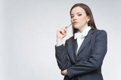 The business woman Royalty Free Stock Photos