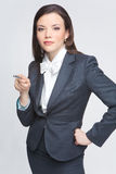The business woman Stock Photo