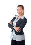 Business woman arms Royalty Free Stock Photography