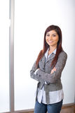 Business woman arms crossed Royalty Free Stock Image