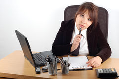Business Woman At Desk 11 Stock Photos