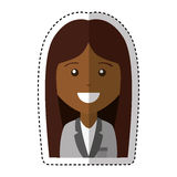 Business woman avatar character Royalty Free Stock Photo