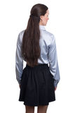 Business woman from the back Royalty Free Stock Image