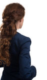Business woman from the back Royalty Free Stock Photo