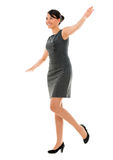 Business woman balancing Stock Photography