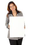 Business woman - banner add Royalty Free Stock Photo