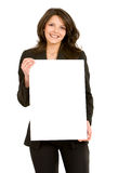 Business woman - banner add Stock Photos
