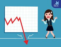 Business Vector flat cartoon design. banner background concept vector illustration