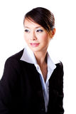Business woman with a beautiful smile. Business woman with a confident beautiful smile Royalty Free Stock Photo