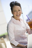 Business Woman On Break From Work Stock Photos
