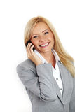 Business woman call Royalty Free Stock Image