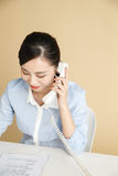 Business woman call Stock Image
