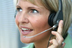 Business Woman -  Call and Phone Royalty Free Stock Photo