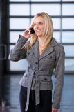 Business woman on a cell phone i Stock Photo
