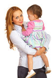 Business woman with child stock images