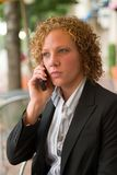 Business Woman In The City 4 Stock Photography