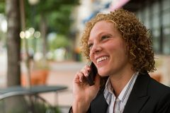 Business Woman In The City 5 Stock Images