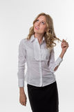 Business woman. Stock Images