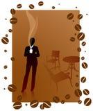 Business woman on coffee break Stock Photo