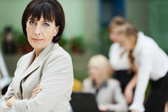 Business woman collective Royalty Free Stock Image