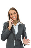Business woman colling Stock Images