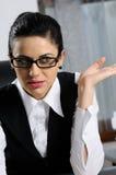 Business woman communicating Stock Photos