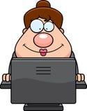 Business Woman Computer Stock Photo