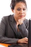 Business woman concentrating Stock Photography