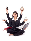 Business woman concept Royalty Free Stock Photos