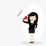 Business woman Concept. Royalty Free Stock Photography