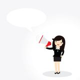 Business woman Concept. Royalty Free Stock Photos