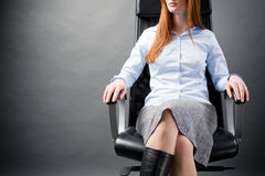 Business Woman with Confidence Stock Images