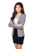 Business woman confident smile Stock Photography