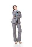 Business woman contemplate Stock Photos